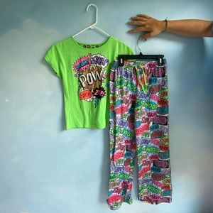 Kids 3 Piece Pajama Set